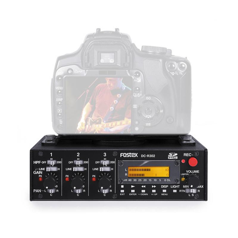 Fostex DC-R302 3 Channel Mixer Recorder