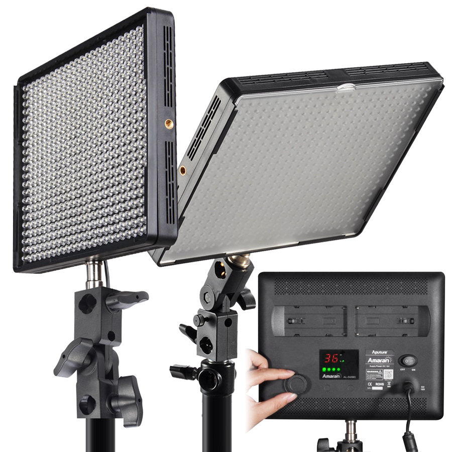 aputure amaran al 528w led light direct imaging 87876