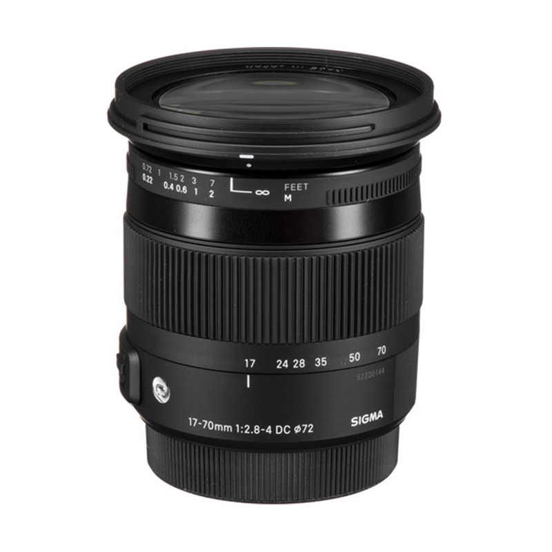 Sigma 17-70mm f2.8-4 DC Macro OS HSM Lens for Canon 1