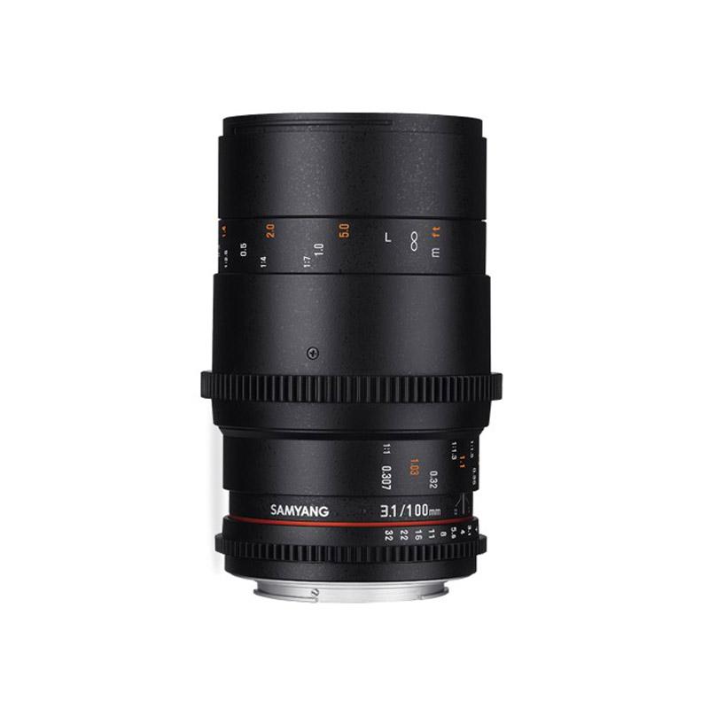 Samyang 100mm T3.1 VDSLR Cinema Video Lens
