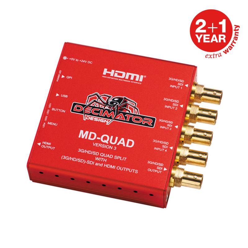 Decimator MD-QUAD Multi-Viewer