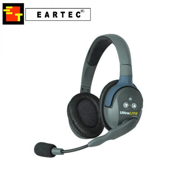 Eartec UltraLite Double Talkback Intercom Headset
