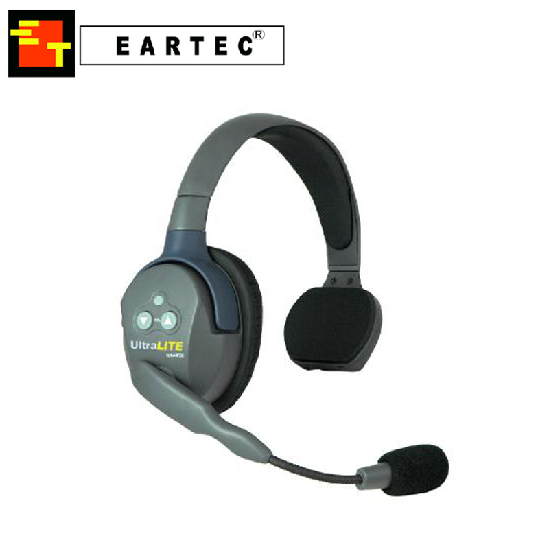 Eartec UltraLite Single Talkback Intercom Headset