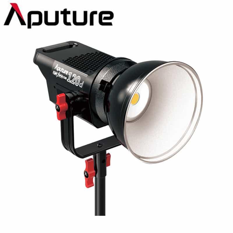 Aputure Light Storm LS C120d LED Studio Lighting Kit with V-Mount
