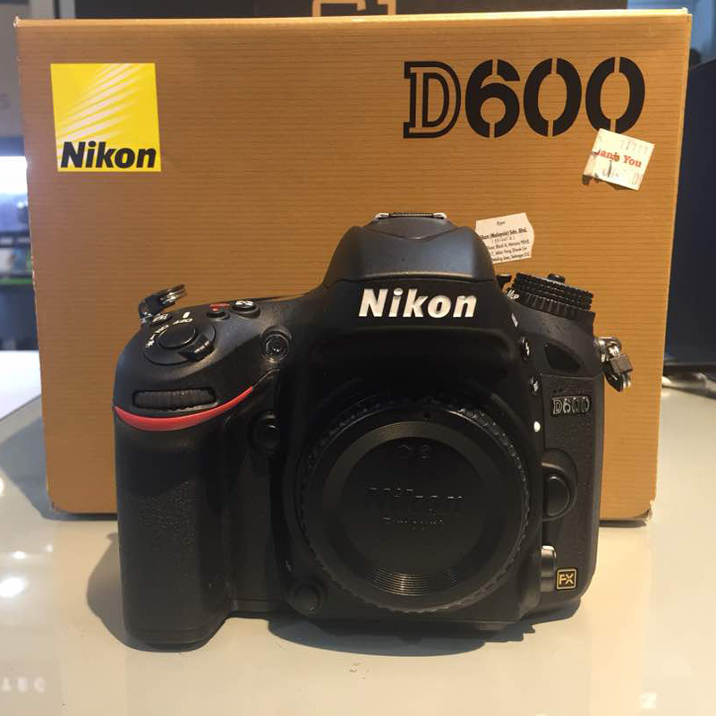 Used) Nikon D600 DSLR Camera Body Only - Direct Imaging