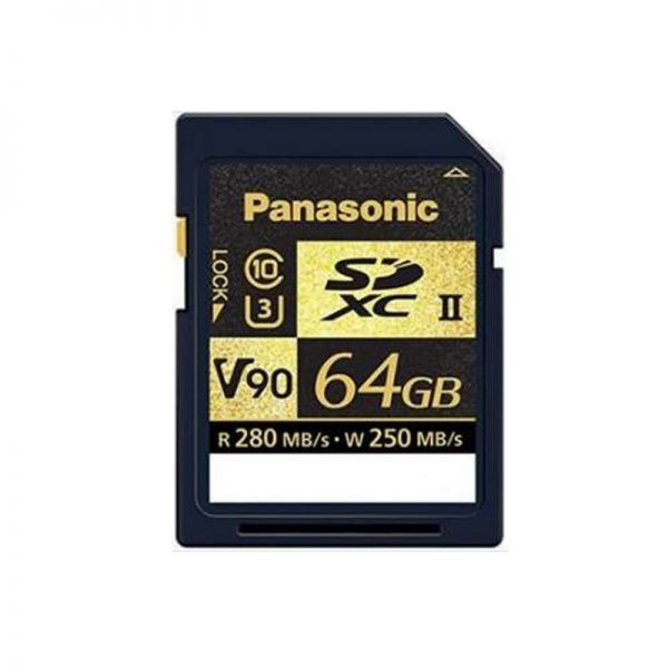 Panasonic RP-SDZA64GZX V90 SDXC 64GB Card - Direct Imaging