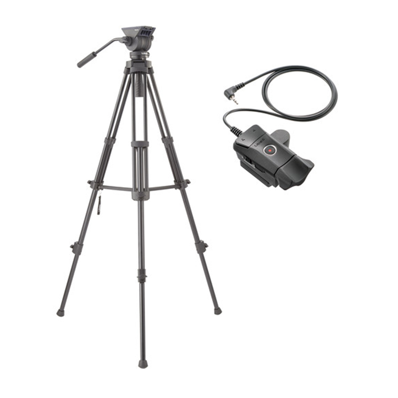 Libec TH-X Video Tripod System Kit with ZFC-L LANC Remote Control