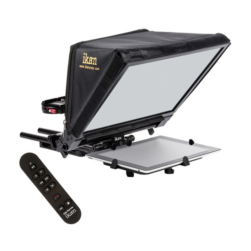 ikan Elite V2 Universal Tablet Teleprompter with Remote