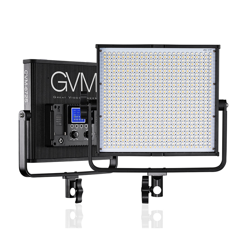 GVM 672S-B LED Video Light (Bi-Color)
