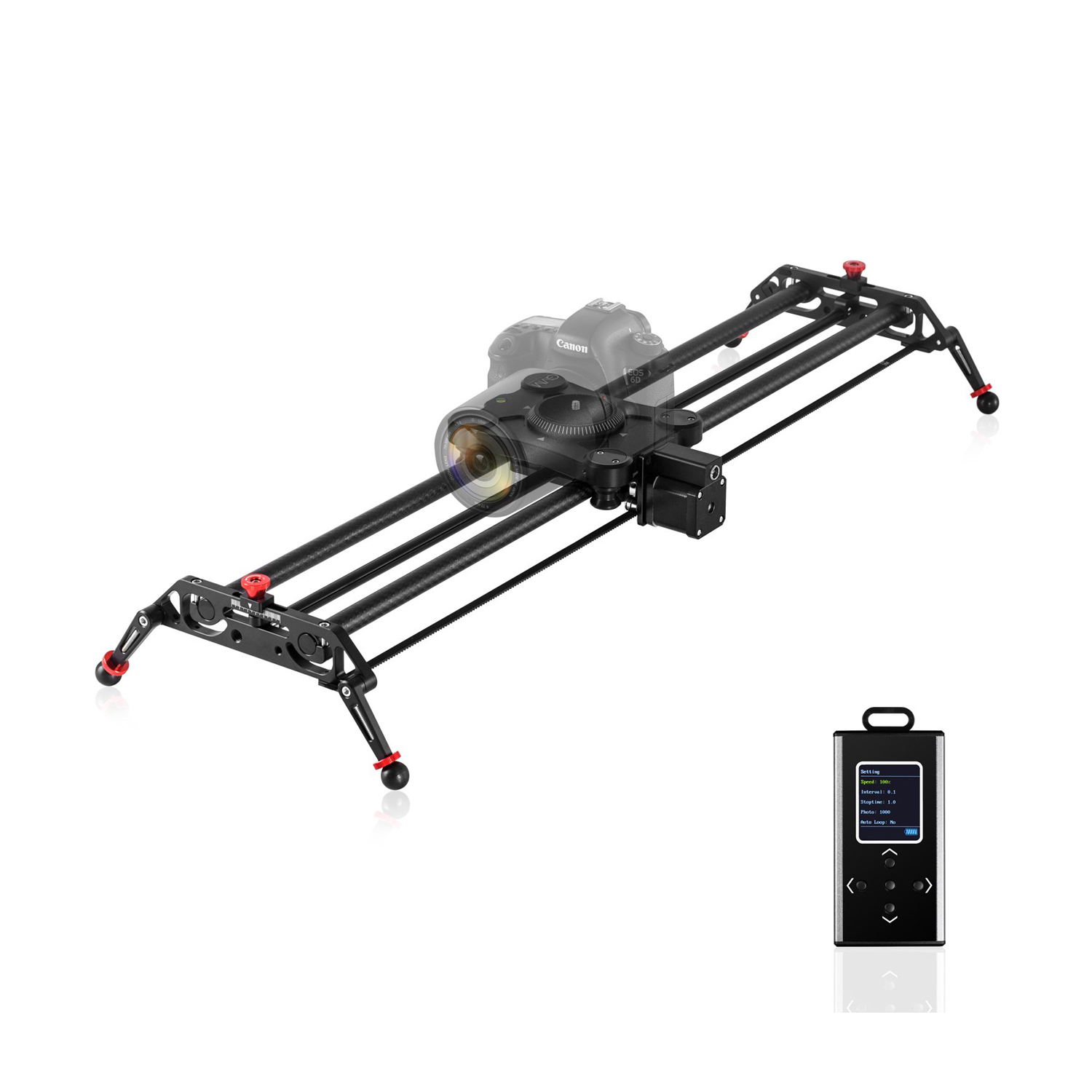 GVM GP-80QD Motorized Carbon Fiber Parallax Video Slider