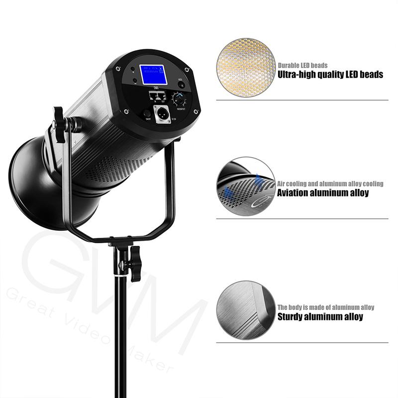 Gvm Photo Studio Led Ring Light: GVM 520LS-B3L LED Video Light (Bi-Color)