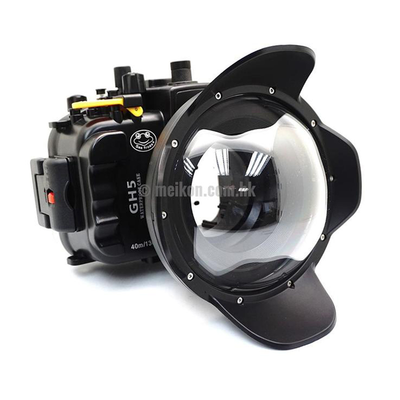 Meikon for Panasonic Lumix GH5 & GH5 S 40m130ft Underwater Camera Housing