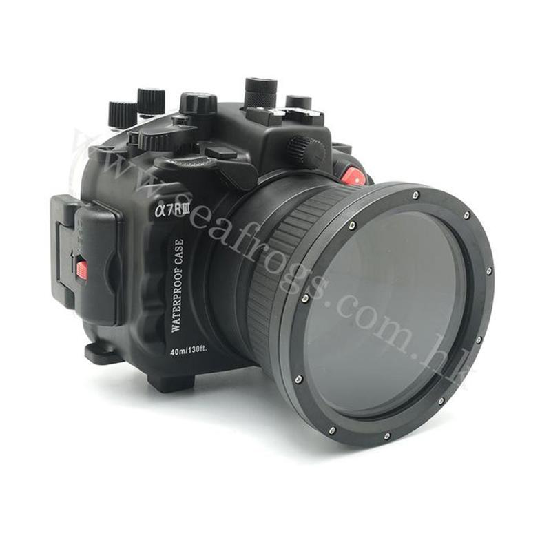 Meikon for Sony A7 III 40M130FT Underwater camera housing (Standard port)