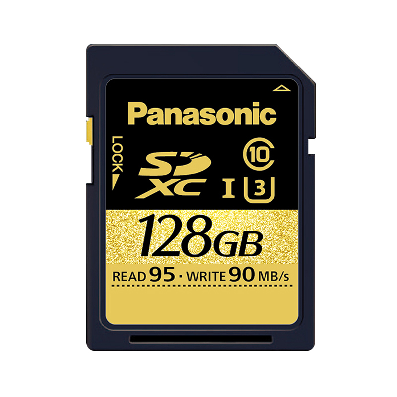 Panasonic RP-SDUD128ZX SDXC 128 GB Memory Card 95mb