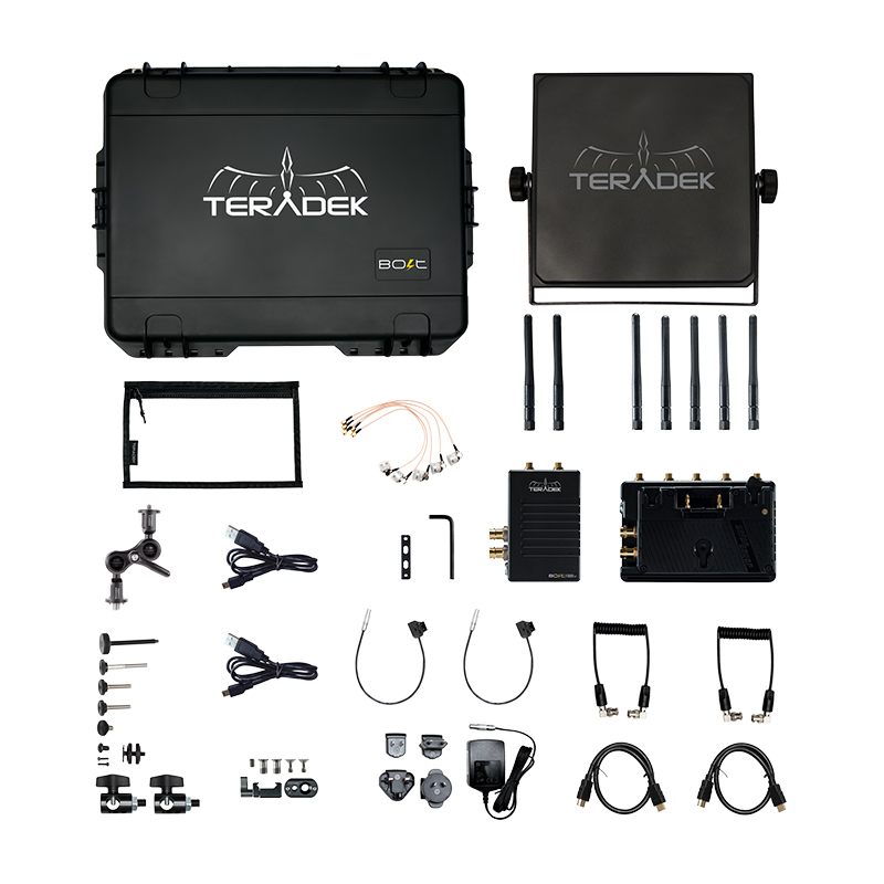Teradek Bolt 1000 XT SDI/HDMI Wireless TX/RX Deluxe Kit