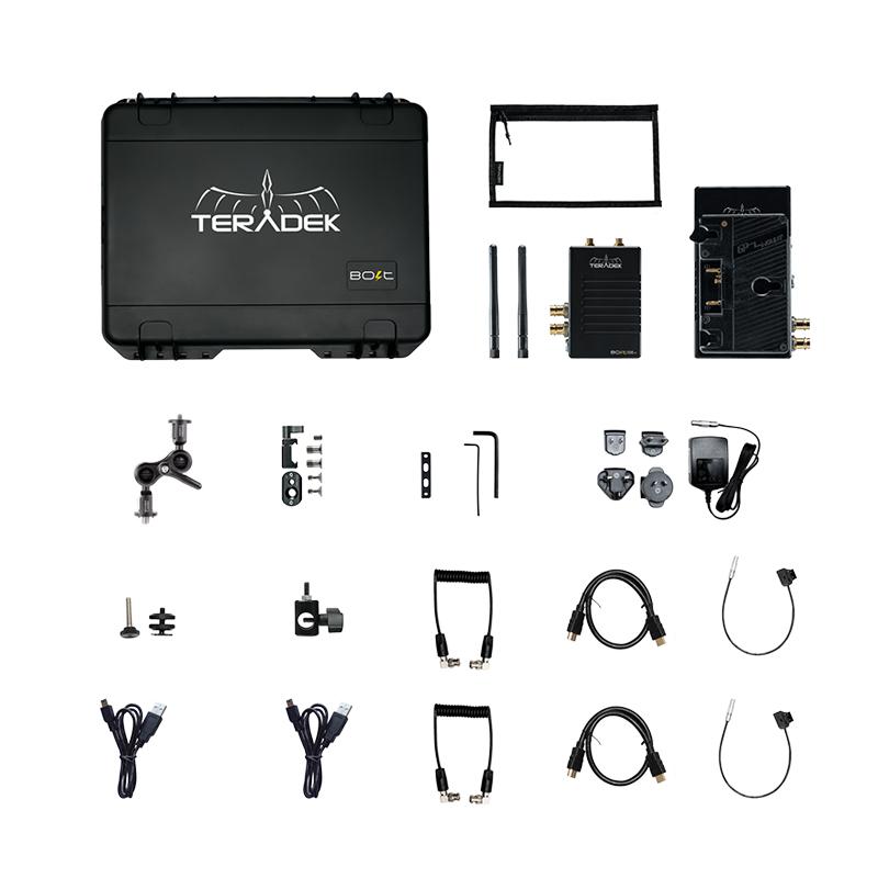 Teradek Bolt 500 XT SDIHDMI Wireless TXRX Deluxe Kit