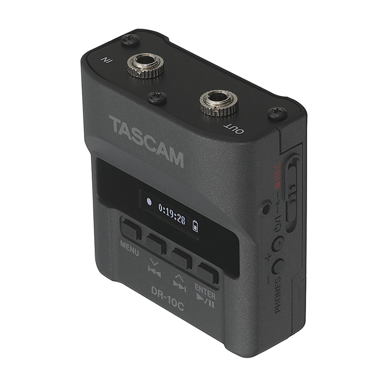 Tascam DR-10C Recorders for Lavalier Microphones