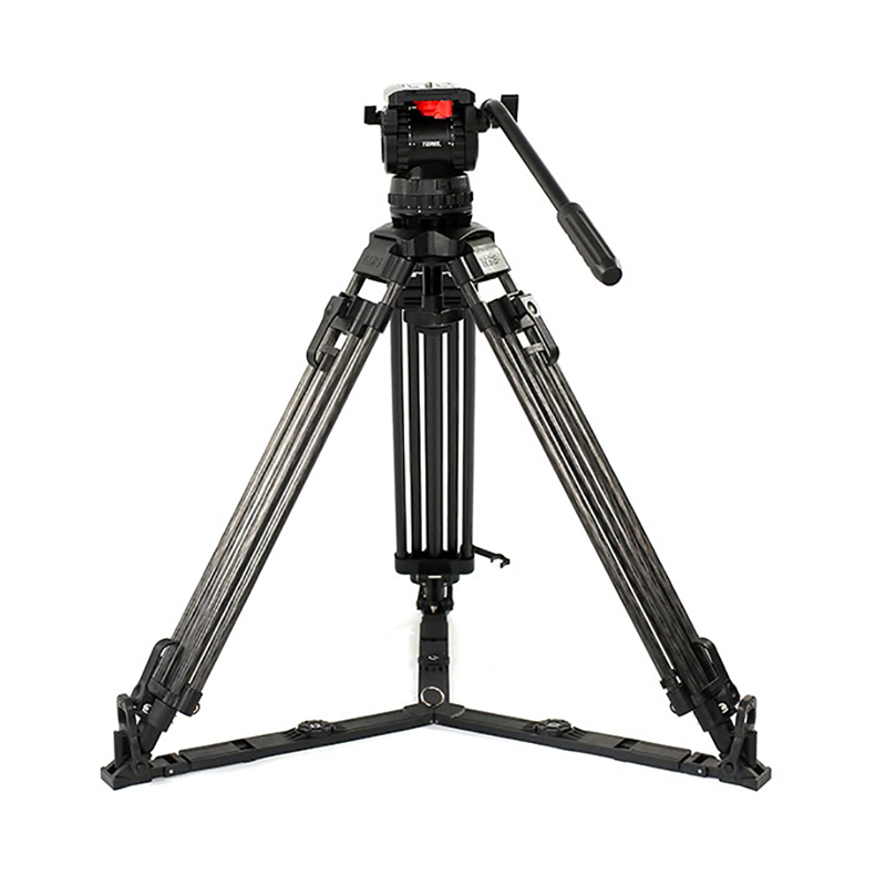 Teris TS100CF Fluid Head and Tripod Kit