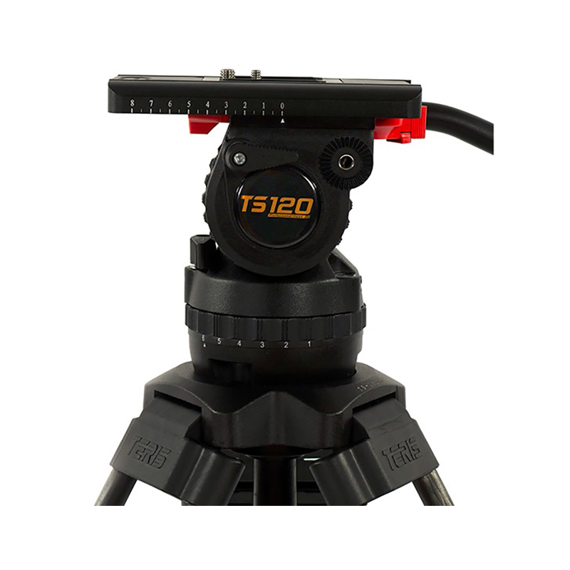 Teris TS120CF Fluid Head and Tripod Kit