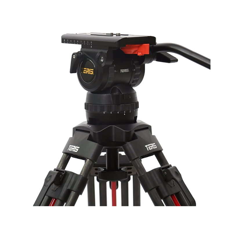 Teris TS120CF-Q Fluid Head & Tripod Kitt