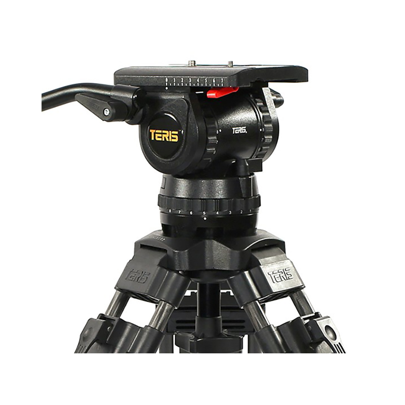 Teris TS150CF Fluid Head and Tripod Kit