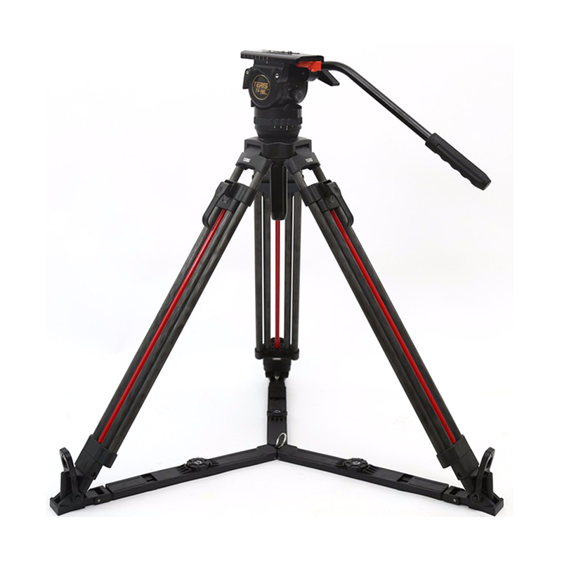 TSN6CF-Q Fluid Head & Tripod Kit