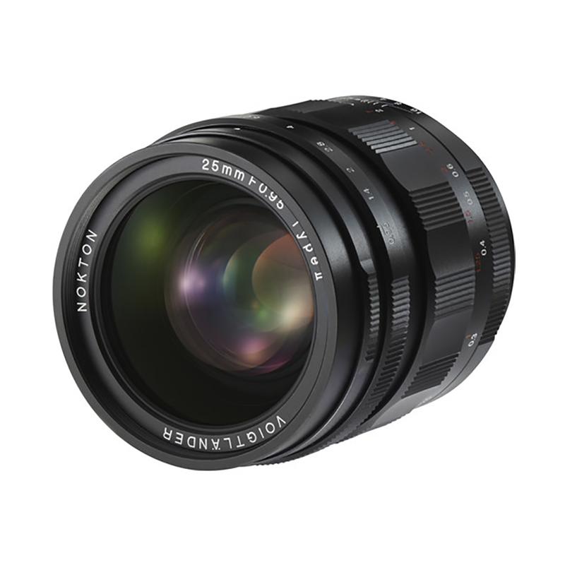 Voigtlander Nokton 25mm f/0.95 Type II Lens for Micro Four Thirds