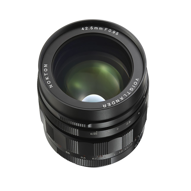 Voigtlander Nokton 42.5mm f0.95 Micro Four Thirds Lens
