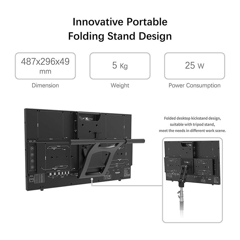 """PortKeys MT20 19.5"""" Inch HDMI3G-SDI FHD Broadcast Monitor"""