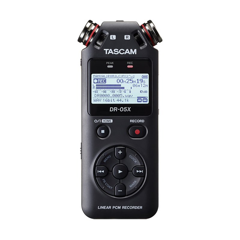 Tascam DR-05X 2-Input 2-Track Portable Audio Recorder