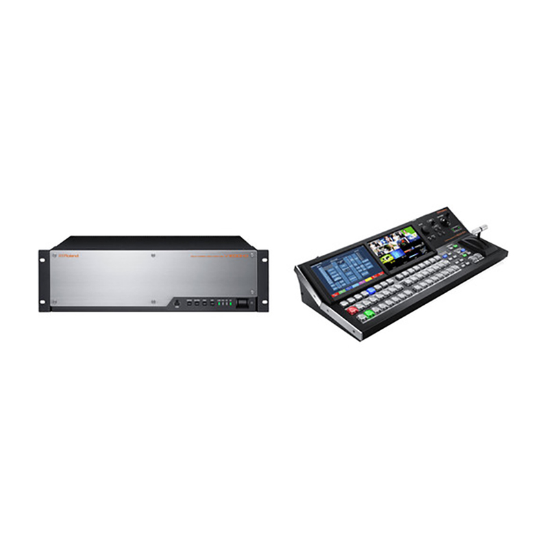 Roland V-1200HD-SYS Video Switcher & Control Surface Bundle
