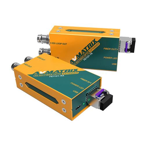 AVMatrix FE1121 3G-SDI Fiber Optic Extender