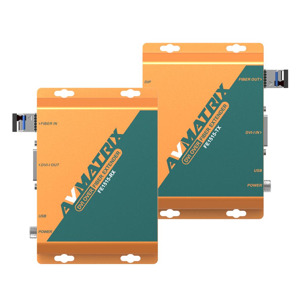 AVMatrix FE1515 DVI-i over Fiber Extender