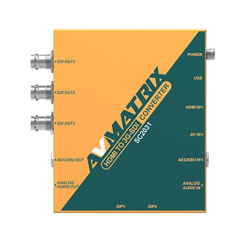 AVMatrix SC2031 HDMI to 3G-SDI Scaling Converter