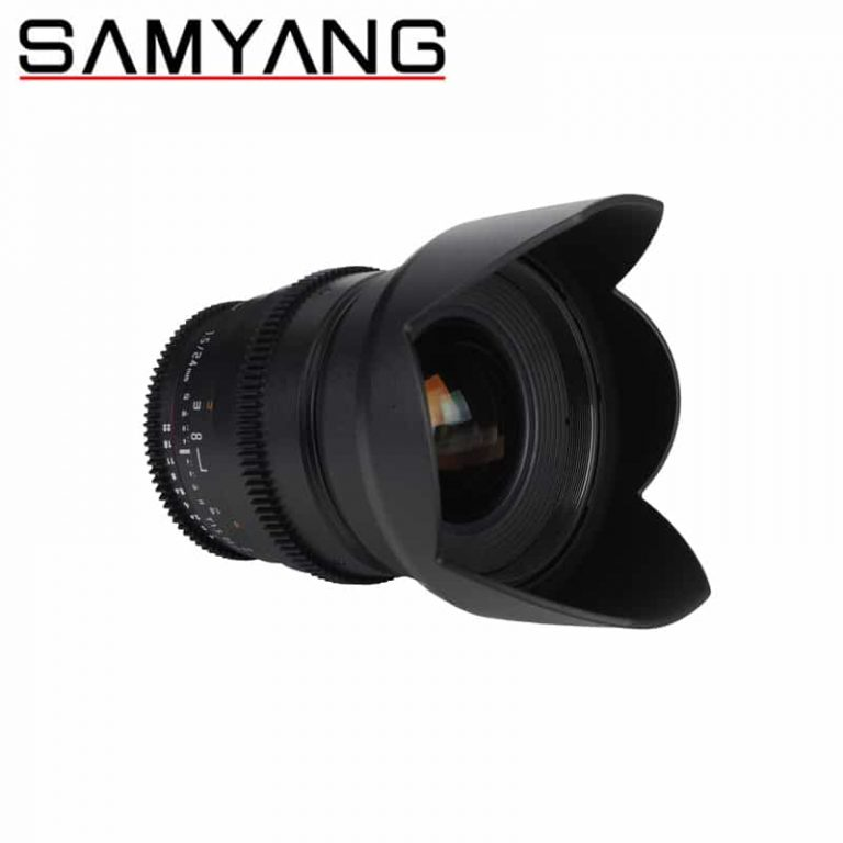 Samyang 24mm T1.5 VDSLR Video Lens MKII (Canon / Nikon / Sony)