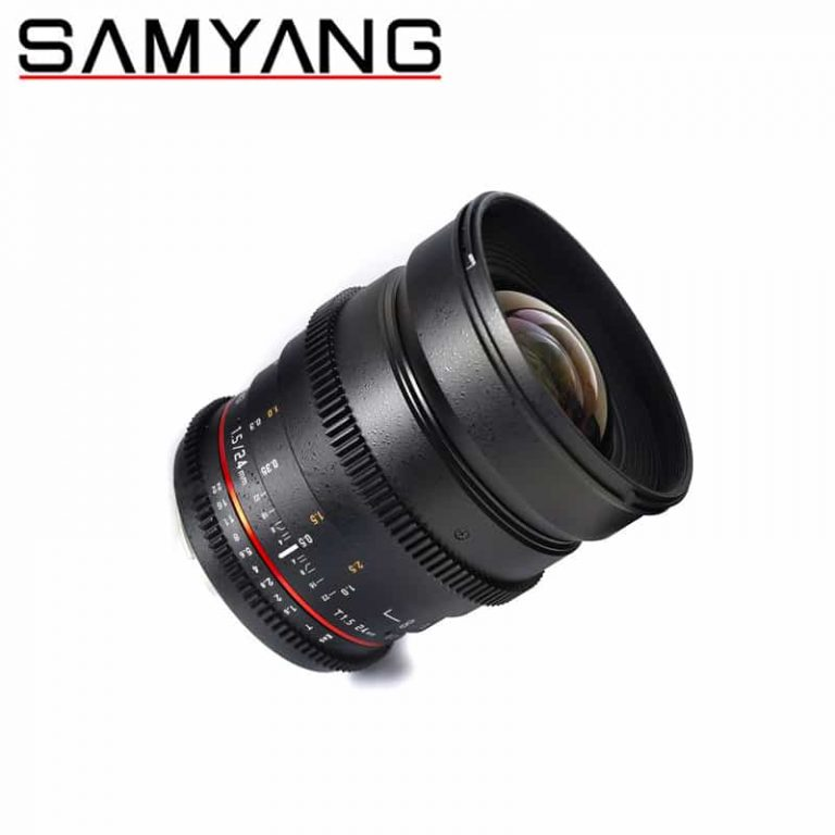 Samyang 24mm T1.5 (VDSLR) Lens MKII for Sony NEX Video Lens