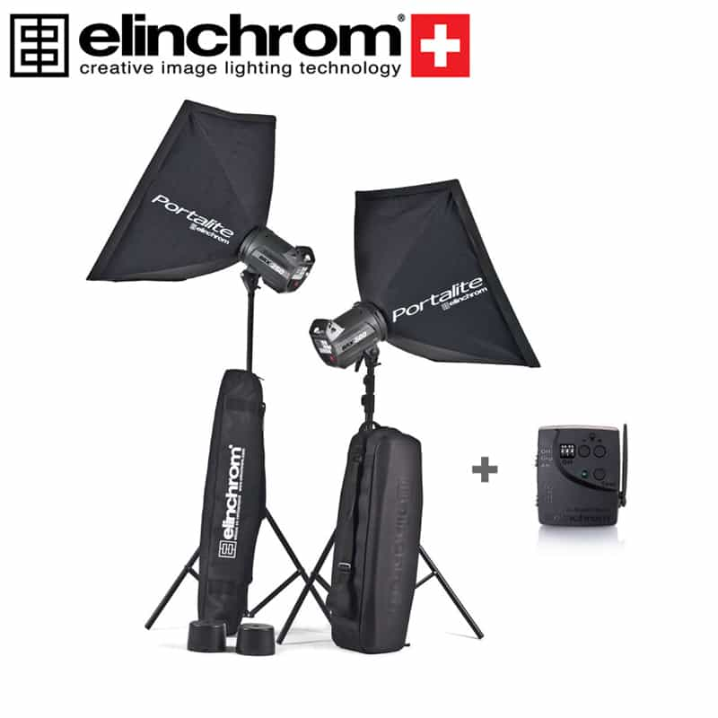 Elinchrom 500 Studio Lighting Kit: Elinchrom BRX 250 And BRX 500 To Go Kit Mono Lighting Kit