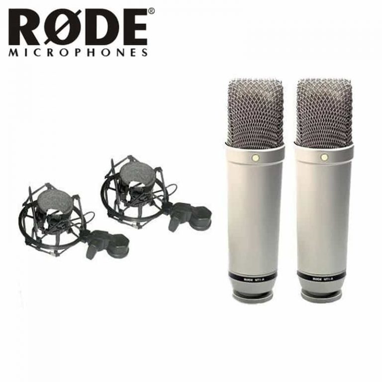 Rode NT1-A Matched Pair Studio Condenser Microphone